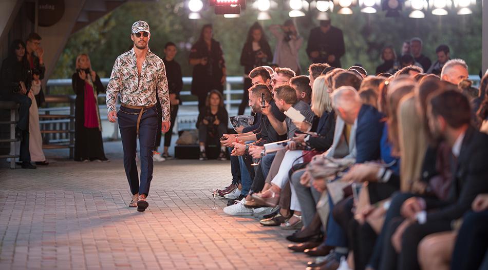 MBPFW Blažek fashion show SS18 Runway