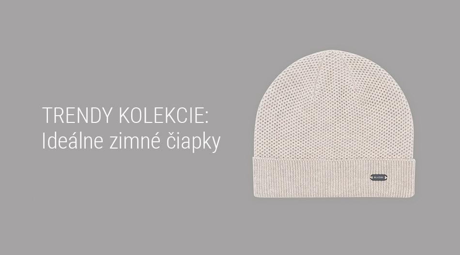 Trendy kolekcie - Ideálne zimné čiapky