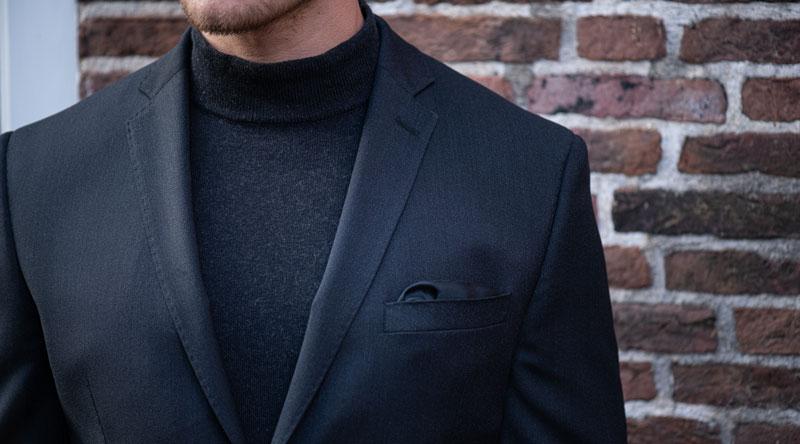 Aký sveter sa hodí do obleku?