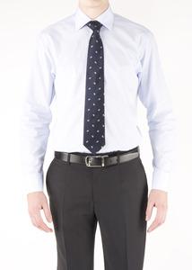 Pánska košeľa formal regular, farba modrá