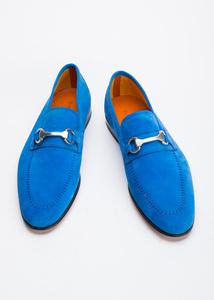 Pánska obuv informal , farba modrá