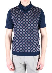 Pánsky sveter sport regular, farba modrá
