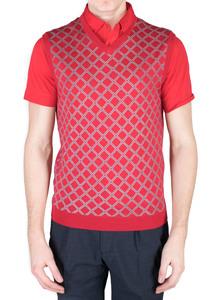 Pánsky sveter sport regular, farba červená