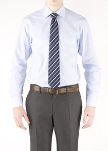 Pánska košeľa formal slim, farba modrá