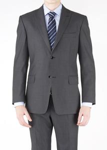 Oblekové sako formal regular, farba sivá