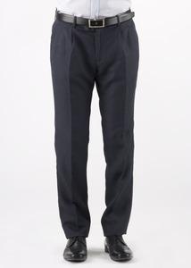 Pánske nohavice informal regular, farba modrá