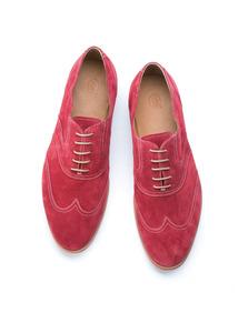 Pánska obuv informal , farba červená