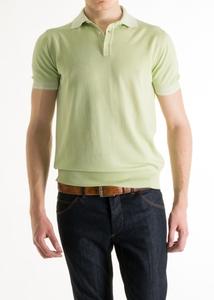 Pánsky sveter informal slim, farba zelená