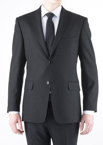 Oblekové sako formal regular, farba čierna