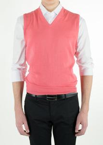 Pánsky sveter informal regular, farba červená
