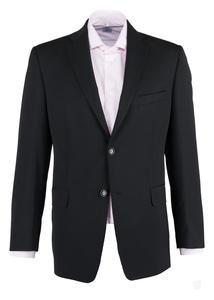 Sako formal regular, farba čierna