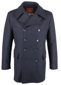 Plášť informal regular, farba modrá
