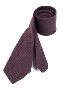Kravata formal slim, farba vínová