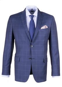 Pánske sako formal regular, farba modrá