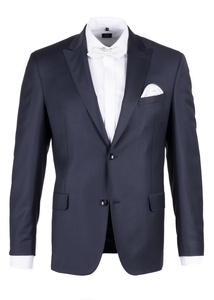 Pánske sako formal regular, farba čierna