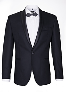 Pánské sako formal regular, farba čierna