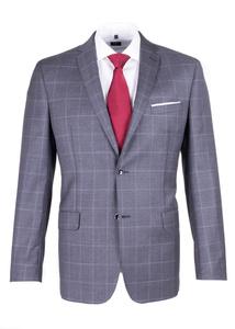 Pánske sako formal regular, farba sivá