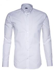 Pánska košeľa informal regular, farba biela