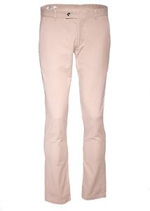 Pánske nohavice informal slim, farba hnedá