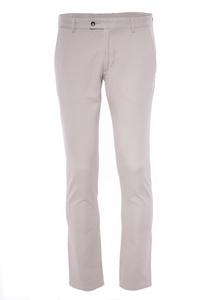 Pánske nohavice informal slim, farba béžová