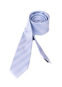 Kravata formal slim, farba modrá