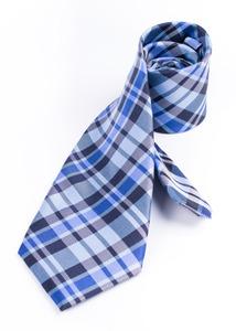 Kravata informal regular, farba modrá