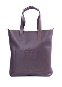 Pánská kožená taška  regular, farba hnedá