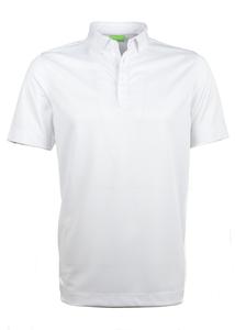 Polo triko informal regular, farba biela