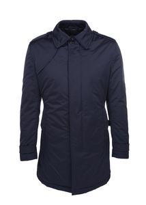 Plášť informal, farba tmavo modrá