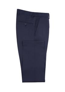 Pánske oblekové nohavice formal , farba modrá