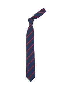 Kravata Blažek Jeans , farba modrá, červená