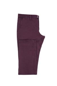 Pánske nohavice casual , farba fialová