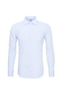 Pánska košeľa formal , farba biela, modrá