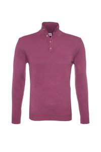 Pánsky sveter casual , farba červená