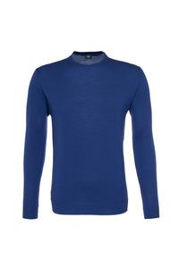 Pánsky sveter informal , farba modrá