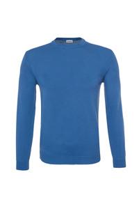 Pánsky sveter casual , farba modrá