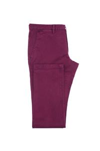 Pánske nohavice casual , farba červená