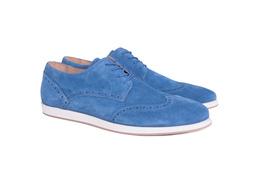 Pánska módna obuv  casual , farba modrá