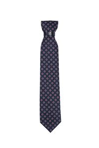 Kravata formal , farba modrá, červená