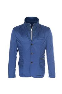 Pánska bunda  casual , farba modrá