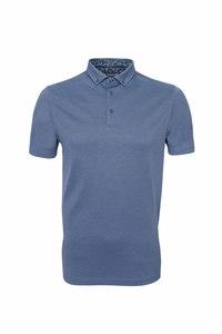 Pánske polo tričko informal , farba modrá