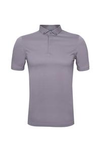 Pánske polo tričko informal , farba svetlo hnedá