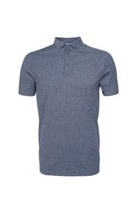 Pánske polo tričko informal , farba sivá