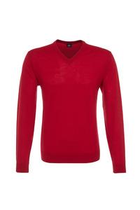Pánsky sveter formal , farba červená