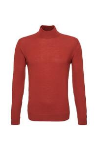 Pánsky sveter informal , farba oranžová