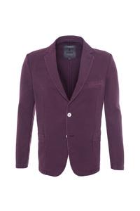 Pánske sako casual , farba fialová