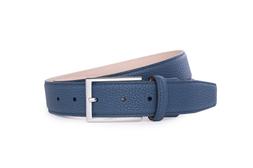 Pánsky opasok formal , farba modrá