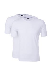 2pack-triko informal , farba biela