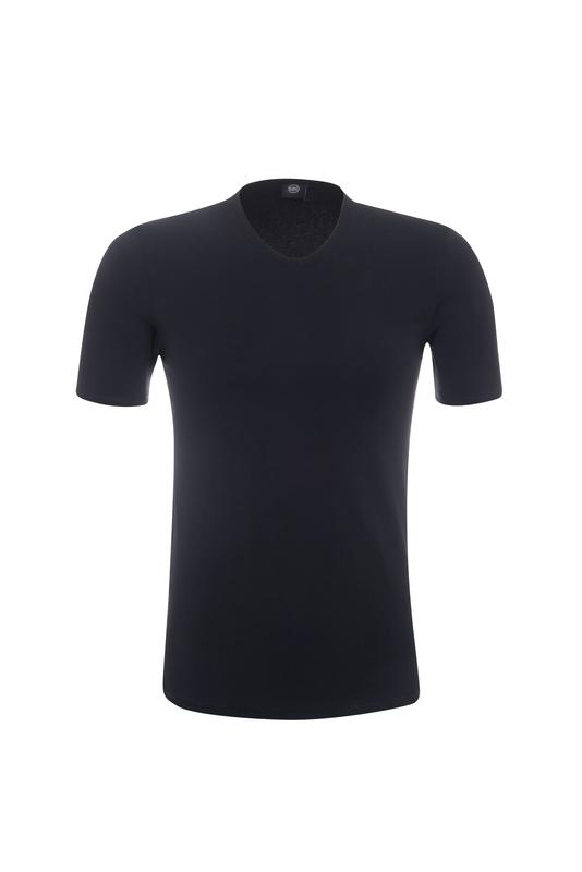 2pack-triko informal , farba čierna