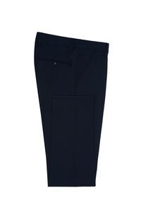 Pánske oblekové nohavice formal , farba tmavo modrá